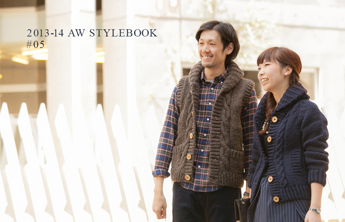 ONLINE STORE : STYLEBOOK 2013 <br />ペルーニットスタイル UP