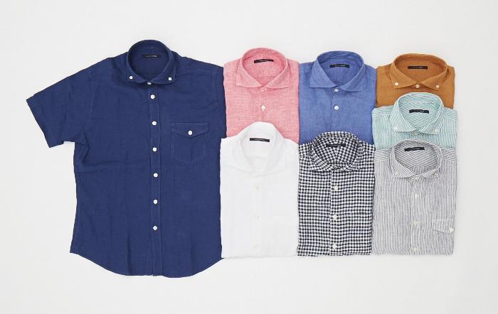 アイテム01 リネンシャツ