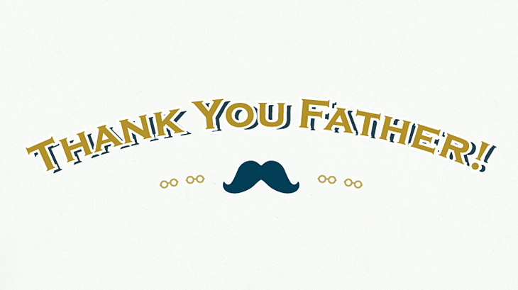DOORSの父の日「THANK YOU FATHER」