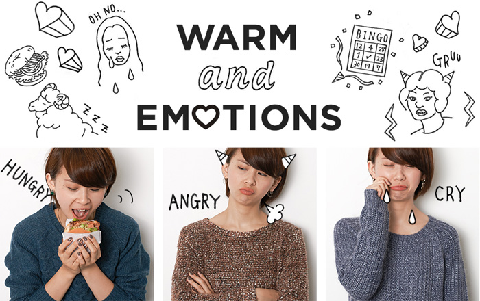 【ONLINE STORE レディースニット特集】<br />「WARM and EMOTIONS」