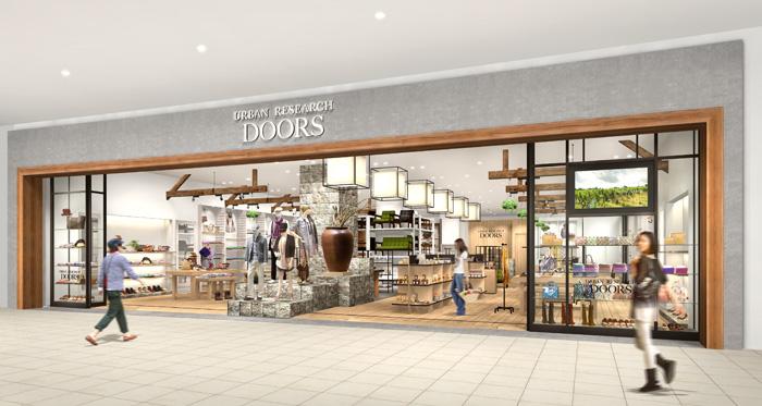 2013年12月20日(金)<br />『URBAN RESEARCH DOORS イオンモール幕張新都心店』<br />オープン