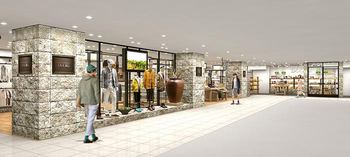 2014年4月26日(土)<br />『URBAN RESEARCH DOORS 静岡パルコ店』がオープン