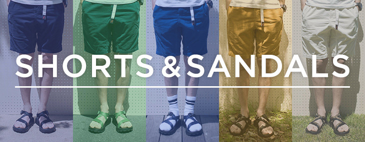ONLINE STORE Shorts&Sandals