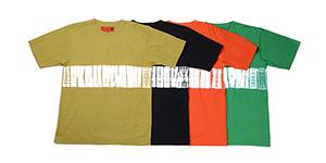 SHIBORI T-shirts