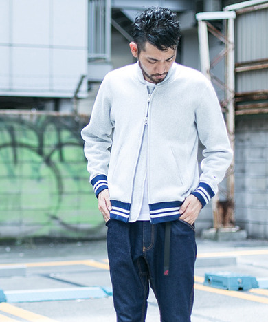 Mt Design 3776 x Champion 別注RW ZIP UP SWEAT SHIRTS