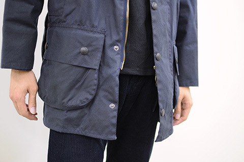 Barbour STYLE MEN 01 ポイント