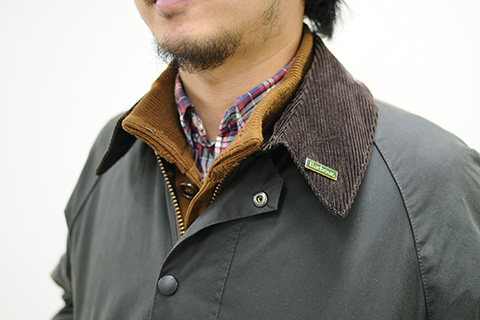 Barbour STYLE MEN 02 ポイント