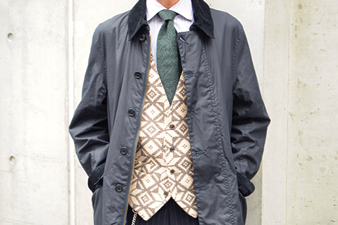 Barbour STYLE MEN 03 ポイント