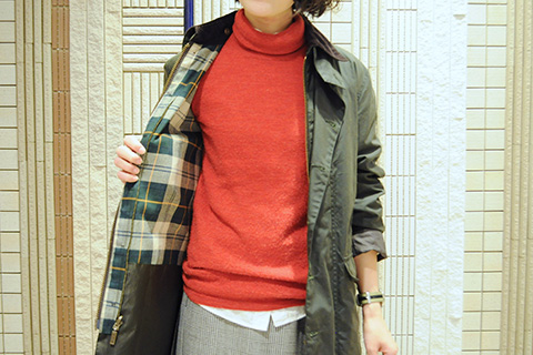 Barbour STYLE WOMEN 03 ポイント