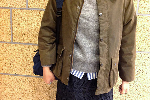 Barbour STYLE WOMEN 05 ポイント