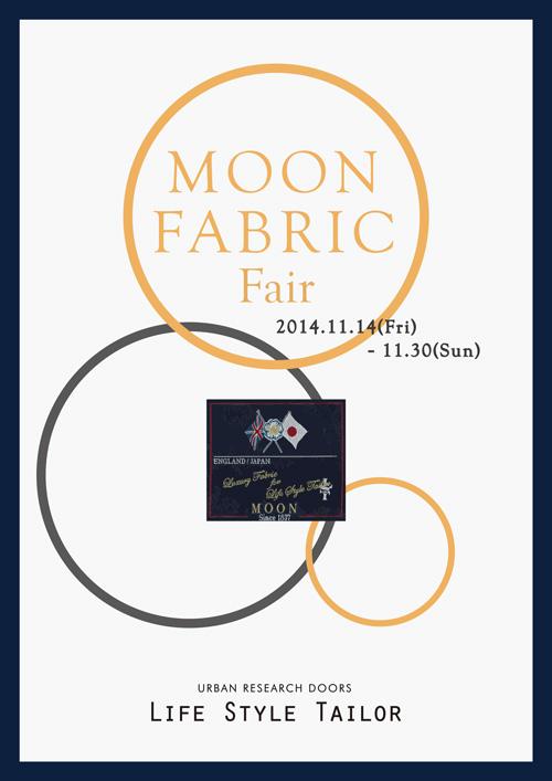 【LIFE STYLE TAILOR】MOON FABRIC Fair