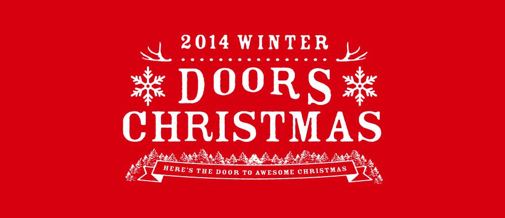 2014 WINTER DOORS CHRISTMAS