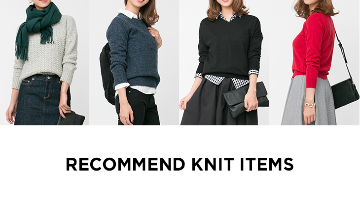 RECOMMEND KNIT ITEMS