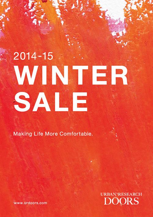 2014-15 WINTER SALE・福袋販売日程のお知らせ