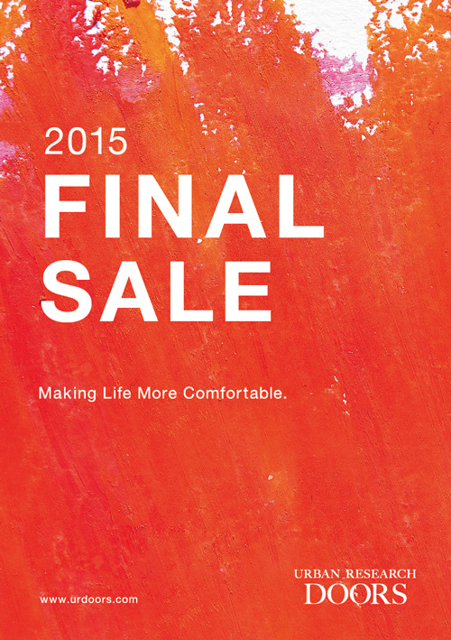 2015『FINAL SALE』&#038;<br />『店内SALE商品+店内商品1点以上お買い上げでSALE商品がさらに10%OFF』