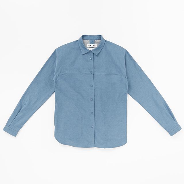 スナップシャツジャケット