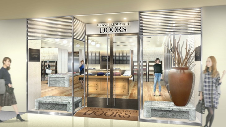 2015年3月6日(金)<br />URBAN RESEARCH DOORS 銀座マロニエゲート店がオープン
