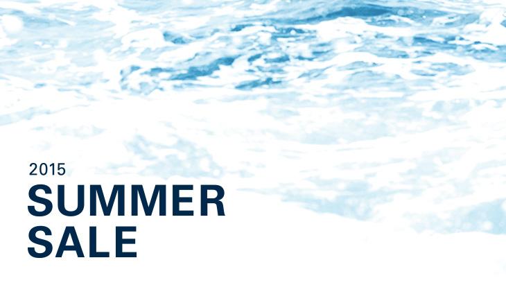 2015 SUMMER SALE開催のお知らせ