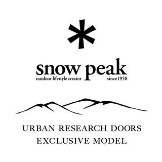 snow peak × URBAN RESEARCH DOORS