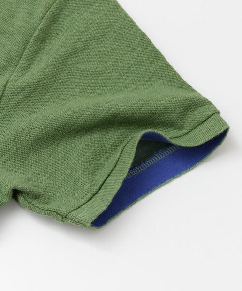 杢鹿の子 ポロシャツ