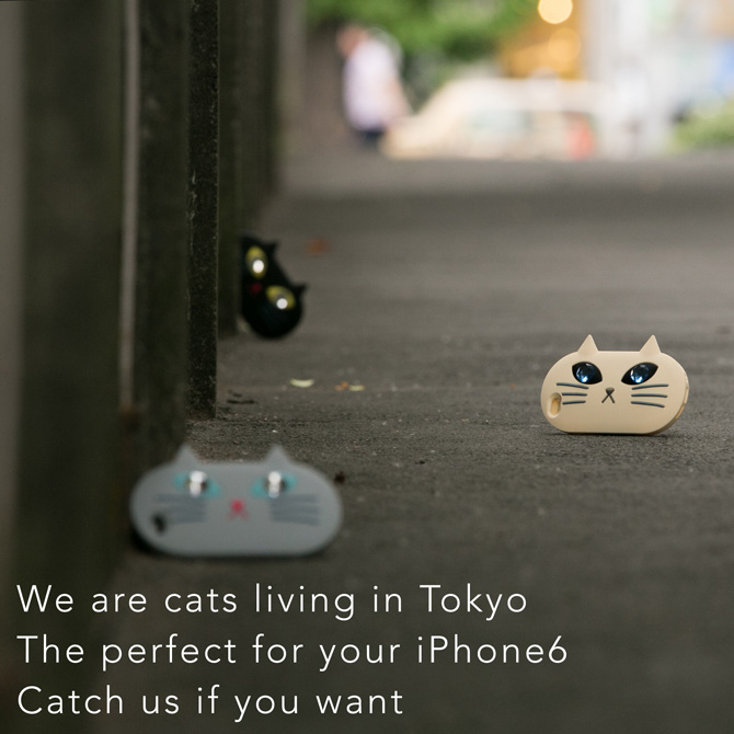 &#8220;キミのiPhoneをまもるよ&#8221; <br />オリジナル ネコiPhoneケースの登場!
