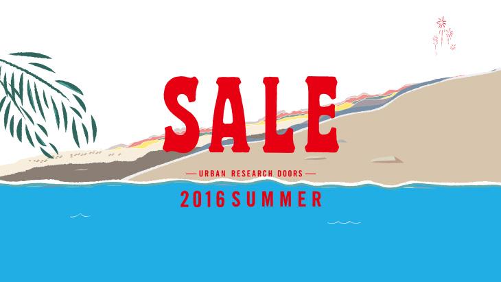 2016 SUMMER SALE 開催のお知らせ