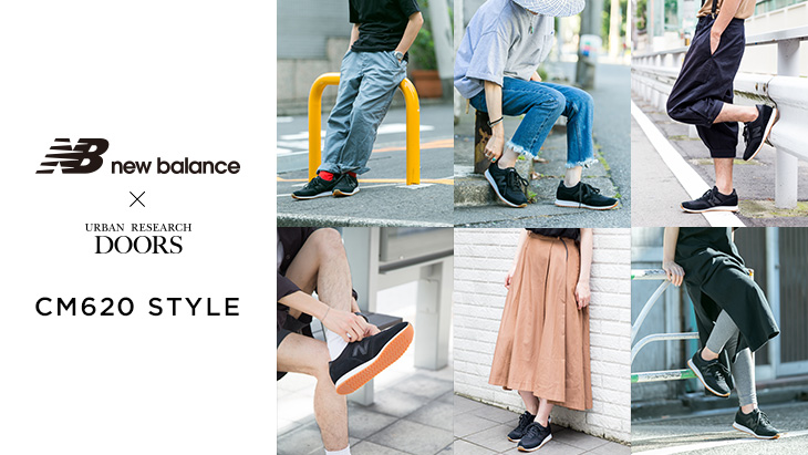 new balance × URBAN RESEARCH DOORS<br />「CM620」STYLE