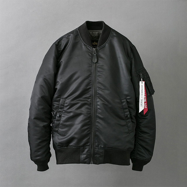 ALPHA INDUSTRIES × URBAN RESEARCH DOORS <br />別注 MA-1 FLIGT NYLON