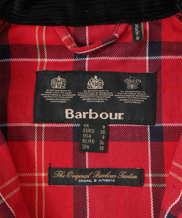 Barbour Ladies SL Bedale DOORS別注