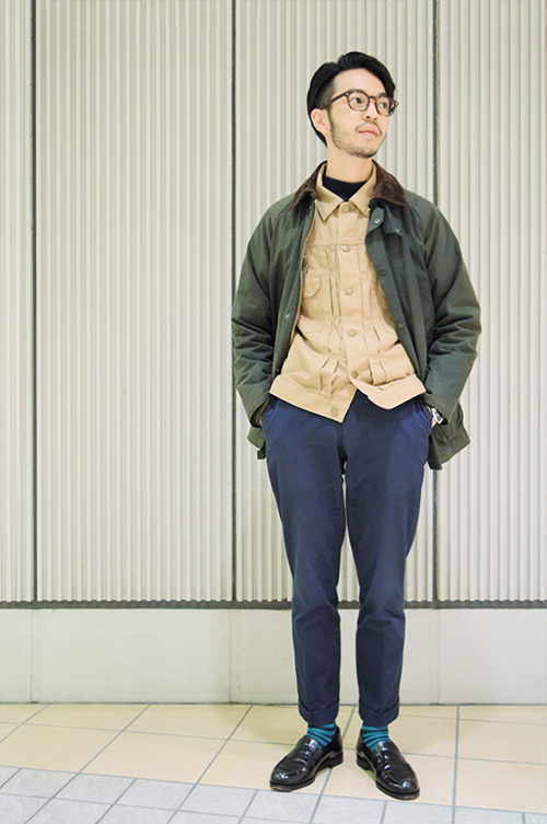 Barbour STYLE MEN 04