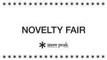 Snow Peak Store NOVELTY FAIR