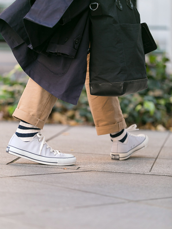 CONVERSE ALL STAR OXSTYLE MEN 01 ポイント