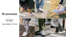 CONVERSE × URBAN RESEARCH DOORS「ALL STAR OX」STYLE!