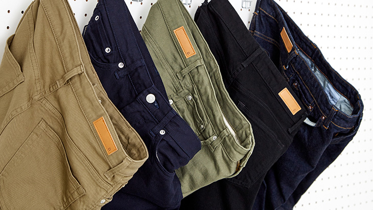 【NEW ARRIVAL】Slim Tapered Series