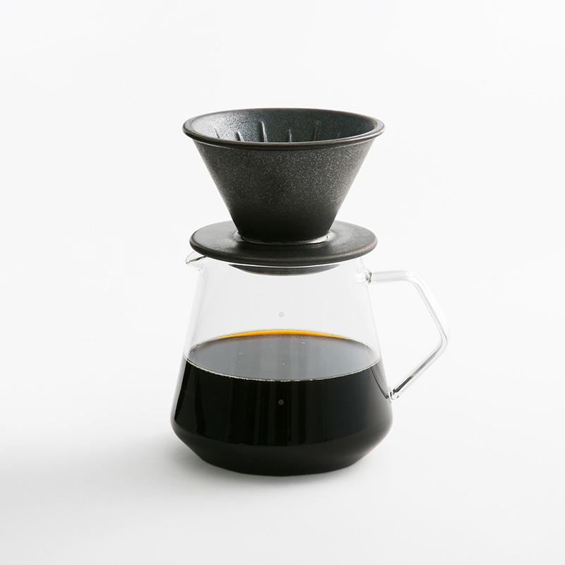 KINTO ブリューワー 2cupsブラック コーヒーサーバー600ml