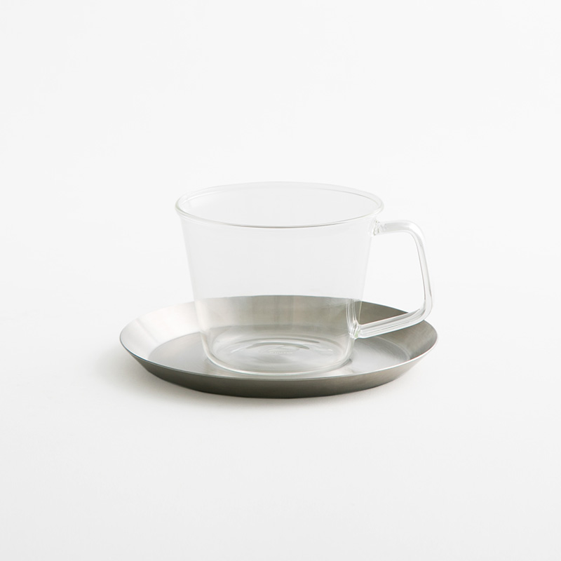 KINTO コーヒーカップ&ソーサーステンレス