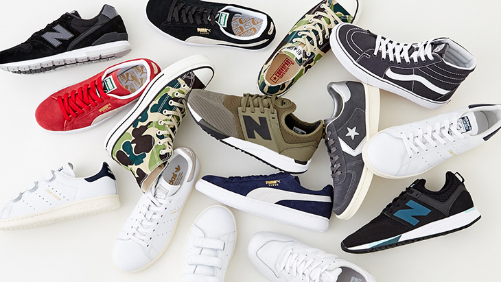 SNEAKERS COLLECTION <br />-2017 Spring season for men-