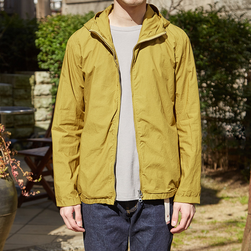 Color Zip Parka