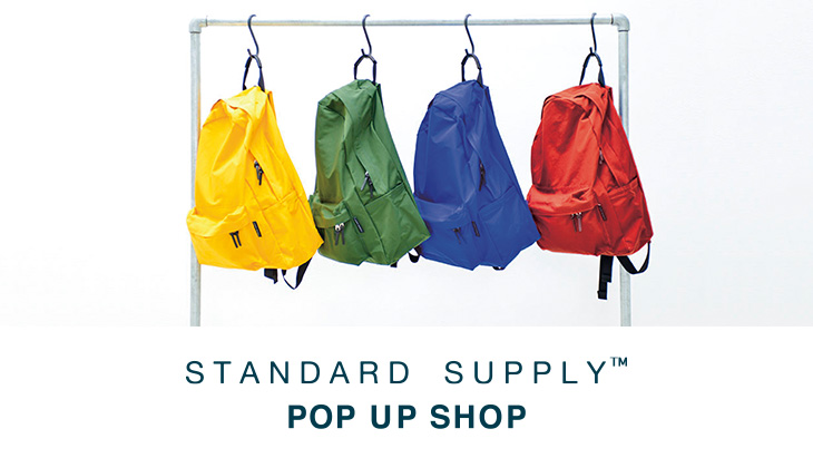 STANDARD SUPPLY POP UP SHOP