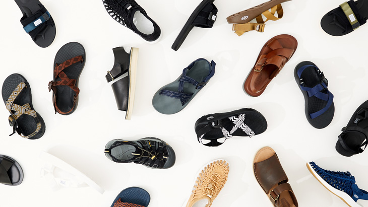 SANDALS COLLECTION <br />-2017 Summer season for men-