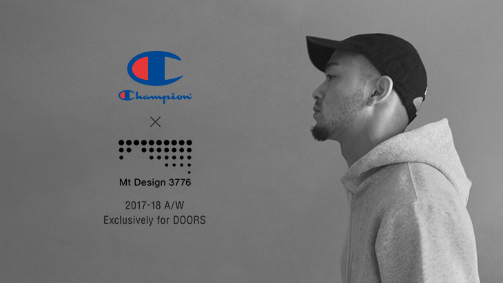 Champion × Mt Design 3776<br />2017-18 A/W Exclusively for DOORS