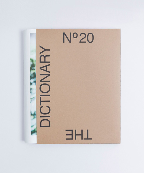 THE DICTIONARY No.20 FASION ISSUE