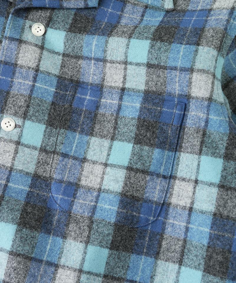 Pendleton × URBAN RESEARCH DOORS 別注 オープンカラーシャツ