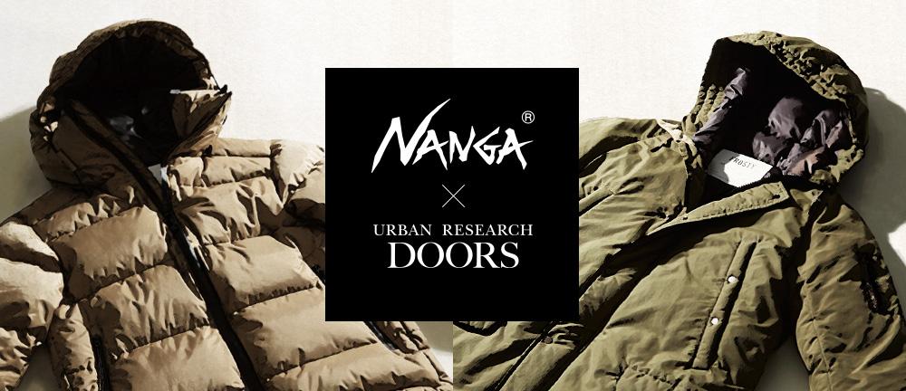 NANGA × DOORS 2017AW