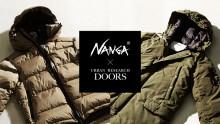 NANGA × DOORS 2017-18AWモデル