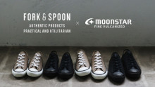 「FORK&SPOON」×「MOONSTAR」に新作が登場!