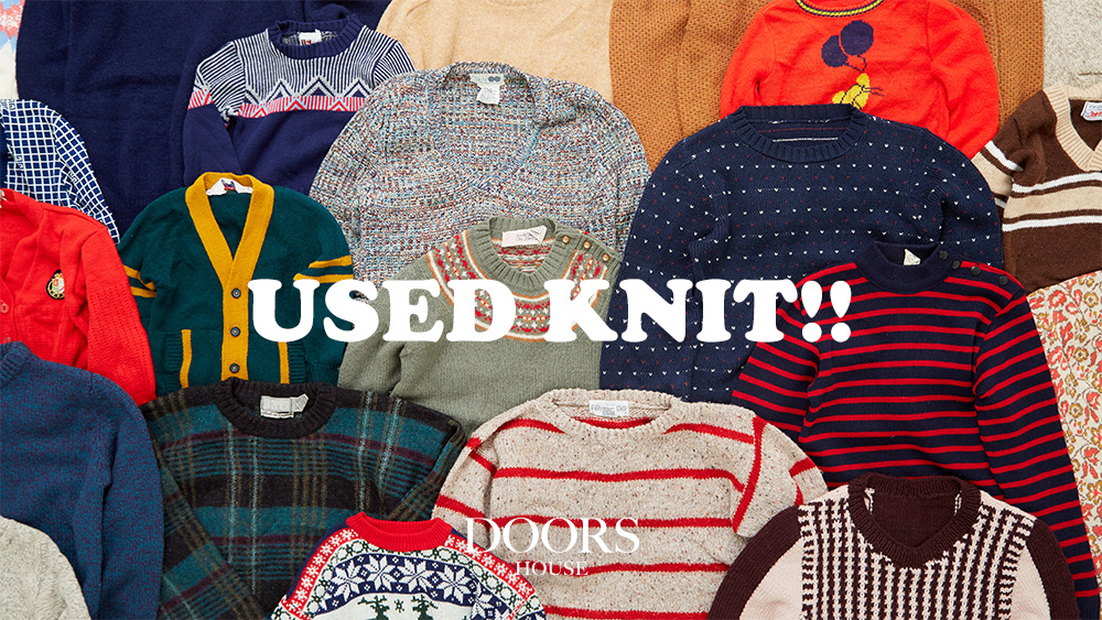 USED KNIT!!