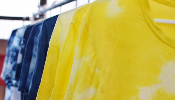 H.A.L.U 天然染料でオリジナルTシャツを作るワークショップ