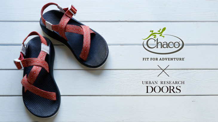URBAN RESEARCH DOORS × Chaco <br />Exclusive Z1 CLASSIC登場