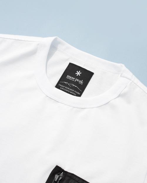 Snow Peak × URBAN RESEARCH DOORS Tactical Pocket T-shirt